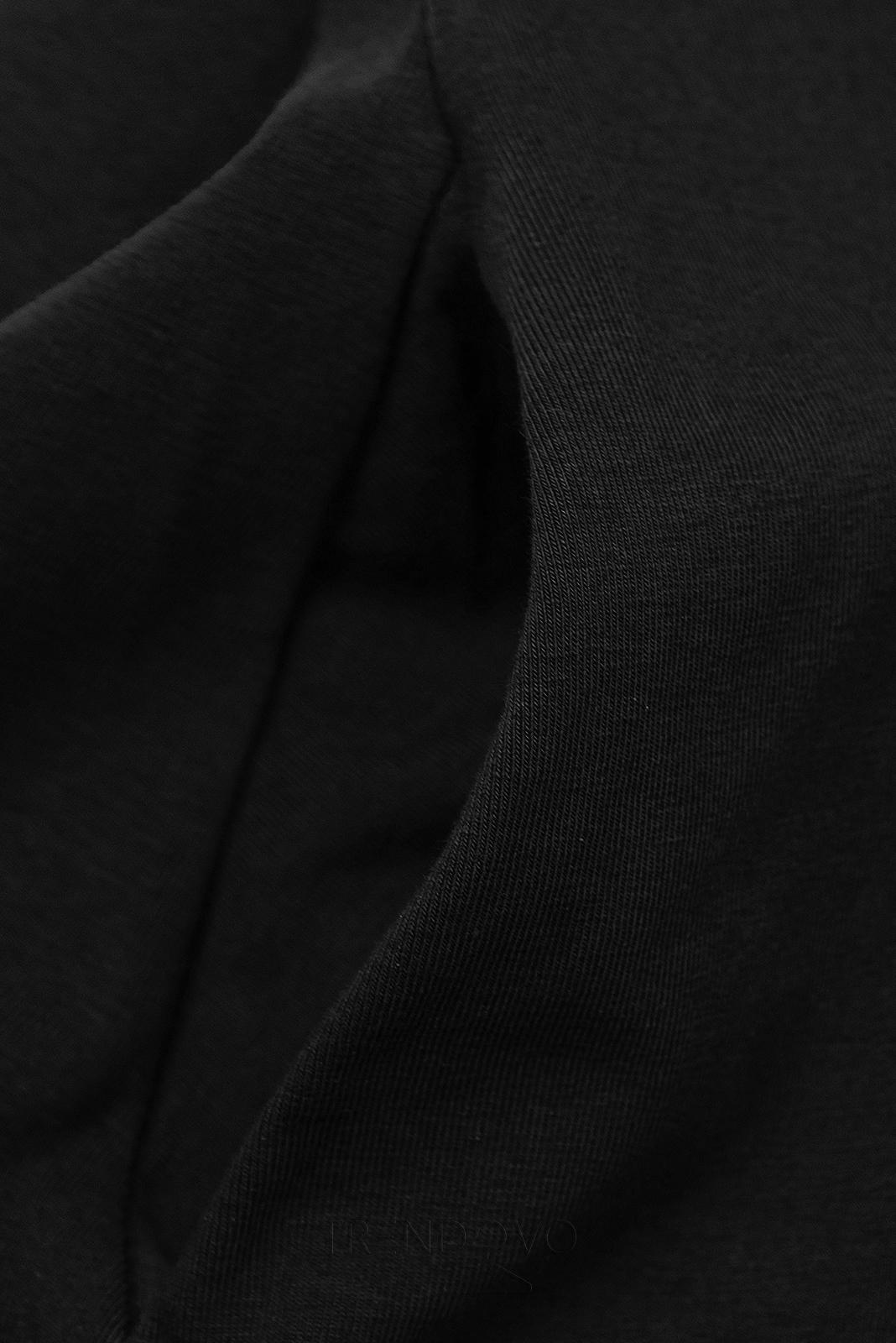 Černé šaty WOMAN