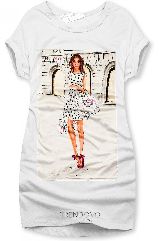 Bílé šaty Urban Couture