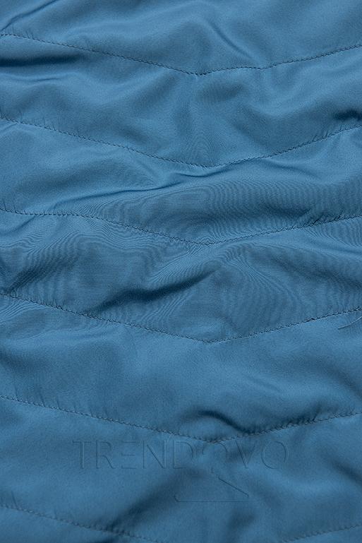 Parka s odepínatelnou kapucí tmavě modrá/modrá