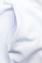 Bílé šaty s nášivkou SUMMER